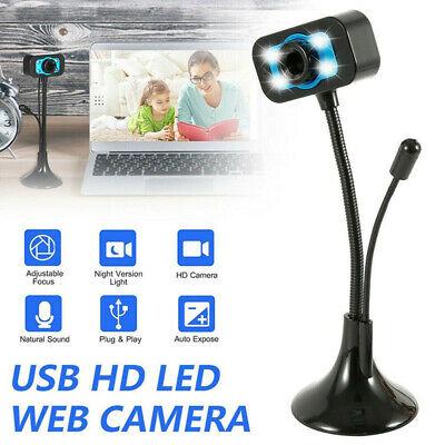 HD Computer Webcam Online Classes Video Live Broadcast Digital Camera micropY*ws