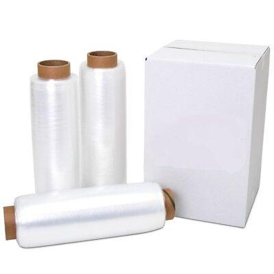 18 X 1500 80 Gauge 1 Roll Pallet Wrap Stretch Film Hand Shrink Wrap 1500ft