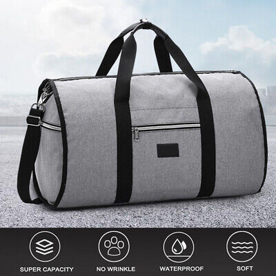 New 2 in 1 Travel bag Shoulder Luggage Two-In-One Garment Ba