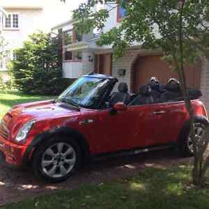 2006 MINI  Cooper S Cuir Cabriolet West Island Greater Montréal image 1