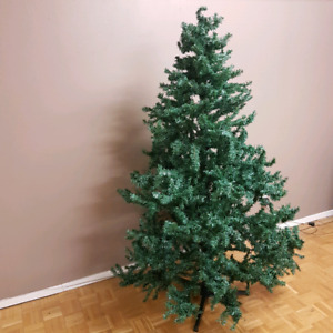 """6.5""""blue spruce christmas tree with lights"""