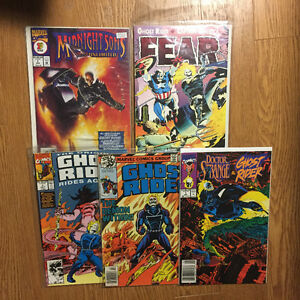Ghost Rider Comic lot