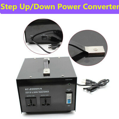 1500w Voltage Converter Transformer 220v To 110v 110v To 220v Step Up Down Usa