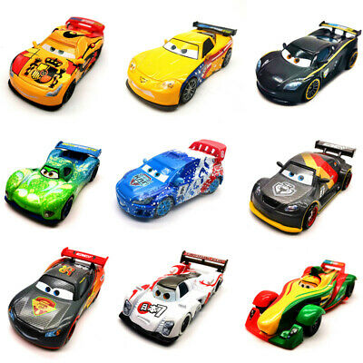 Disney Pixar Cars 2 Racers Toy Car Model Metal 1:55 Diecast Boy Gift