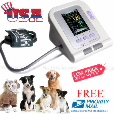 Usa Vet Blood Pressure Monitor Digital Veterinary Nibp Animal Machine Fda Ce