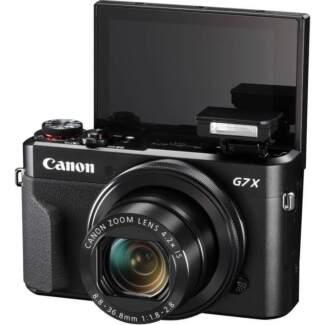 NEW Canon PowerShot G7X II Compact Digital Camera
