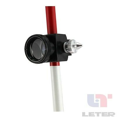 New2pcs Mini Prism With 3 Three Poles For Total Station Brand New 0mm Prism Offs