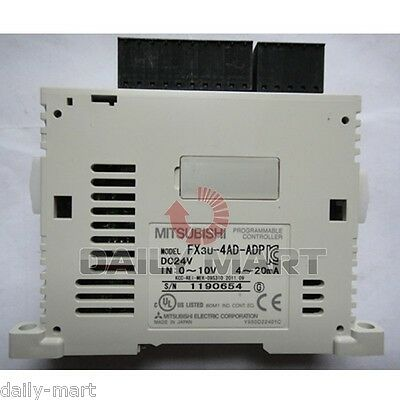 Mitsubishi Fx3u-4ad-adp Fx3u4adadp Analogue Adapter New In Box Nib Free Ship