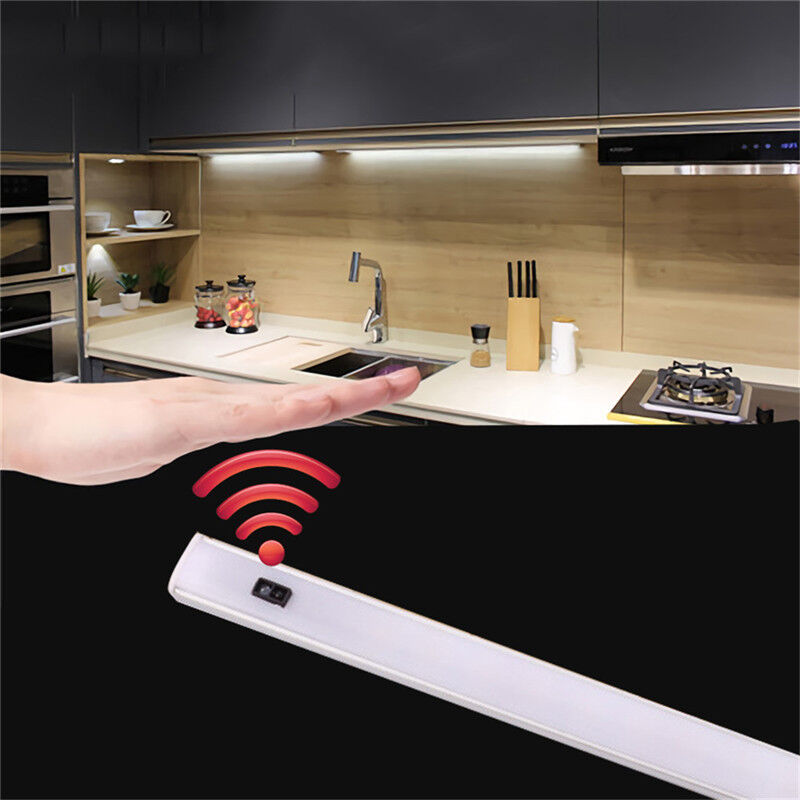 Details About 5w 9w Led Kitchen Cabinet Strip Wireless Sensor Motion Lighting Not Include Plug