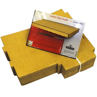 500 x C4 A4 Postal Royal Mail Large Letter Maximum Size Post Pip Cardboard Box