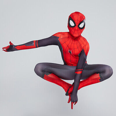 Kids Boys Spider-Man Far From Home Spiderman Zentai Child Cosplay Costume Suit
