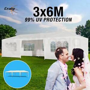 Wedding Gazebo 3x6m White Outdoor Folding Party Canopy Marquee Sydney City Inner Sydney Preview