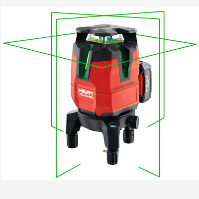 Multi Line Green Laser Level Pm 40 Mg Measure Layout Hand Tools