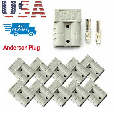 1510 Pcs 50amp 12v 24v Plug Carvan Charger Battery Dc Power Connector Plugs Set