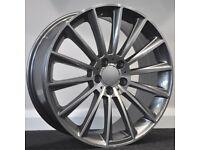 """18"""" S600 GMF Alloys & Tyres. Suit Mercedes C Class, E Class, etc. 5x112"""