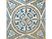 Brand new unopened box of 5 Spanish Ceramic Tiles