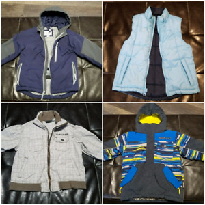 Size 4 boys coats and vest