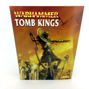 Warhammer 40K Tomb Kings Armies Book 2002 Edition Games Workshop