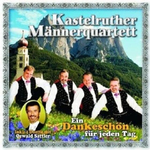"KASTELRUTHER MÄNNERQUARTETT ""EIN DANKESCHÖN..."" CD NEU"