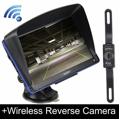 Xgody 7  Car Gps Navigation W  Bluetooth Av In Sat Nav Wireless Rearview Camera