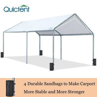 Quictent 10x20 FT Garden Carport Car Shelter Canopy Outdoor