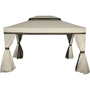 Authentic-Mimosa-Cairo-Gazebo-3-x-4-New-Outdoor-living-bbq-party