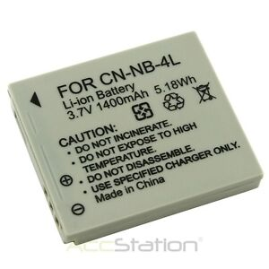 FOR Canon NB4L NB-4l Battery Powershot ELPH SD450 100 HS SD 300 SD330