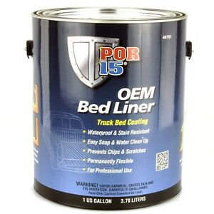 por 15 bed liner coating 1 u s gallonfor truck bed lining