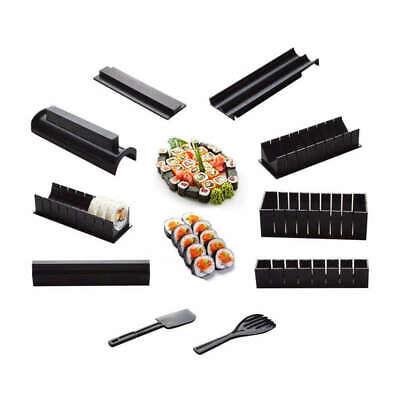 10 Foto / Set Diy Sushi Maker Onigiri Stampo Rice Stampo Kit Cucina Bento A B9R3