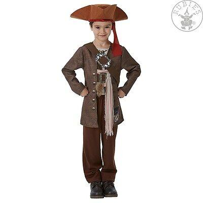Jack Der Pirat-kostüm (RUB 3630788 Disney Kostüm Jack Sparrow Fluch der Karibik 5 Deluxe Pirat Piraten)