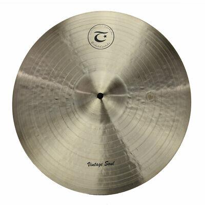 "TURKISH CYMBALS cymbale Vintage Soul 16"" Crash 1001g"