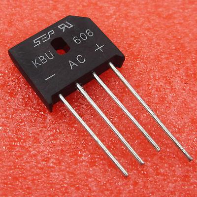 10PCS KBU608 DIOTEC SEMICONDUCTOR KBU608 New Good