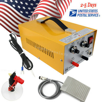 Pulse Sparkle Spot Welder Electric Jewelry Welding Machine Gold Silver Durable