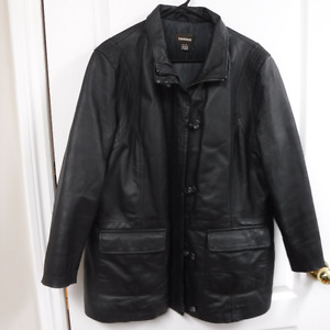 Women's Danier Leather Coat, XL, Like New