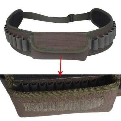 US Outdoor Hunting Shotgun Bullet Shell Holder Belt Cartridg
