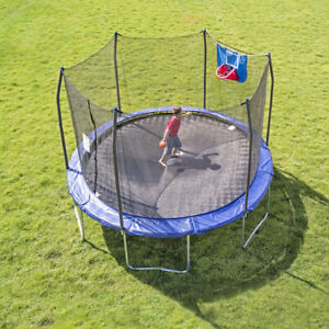 Skywalker Trampolines Jump N' Dunk with Safety Enclosure