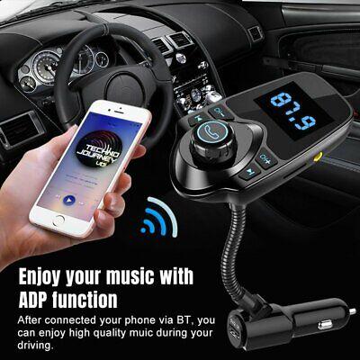 Wireless Bluetooth In Car FM Transmitter kit USB Charger Radio Adapter Handsfree