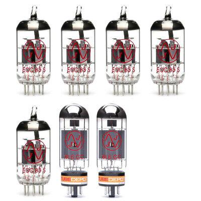 Mesa Boogie Single Rectifier 50 ULTIMO Tube Set 6L6GC Recto Gold Pin Preamps