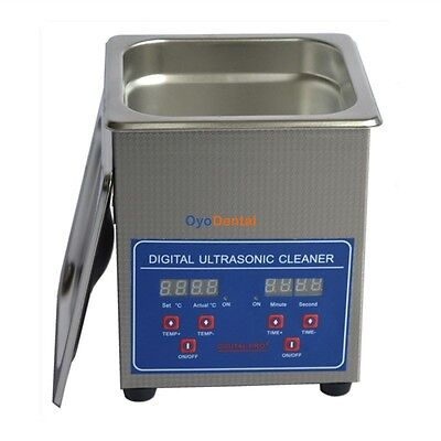 2l Ultrasonic Cleaner Cleaning Machine For Lab Hospital Dentistry Jewelry Ce