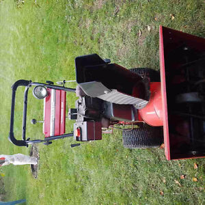 Two stage snowblower 24in