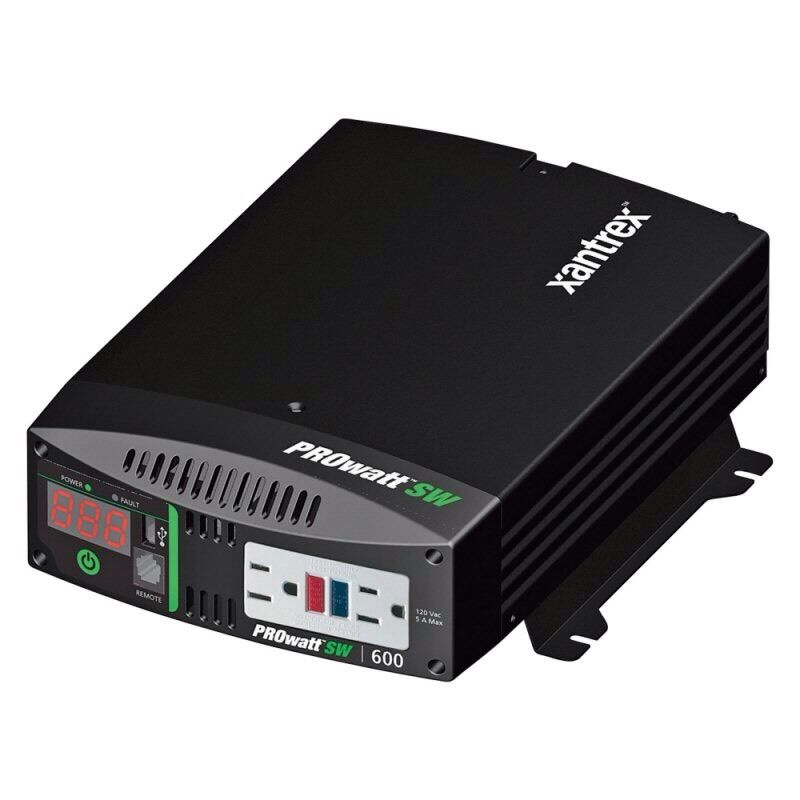 New Xantrex PROwatt SW600 True Sine Wave Inverter 806-1206 RV Marine Bus Camping