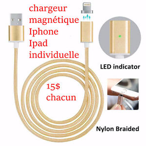 Chargeur magnétique iphone ipad