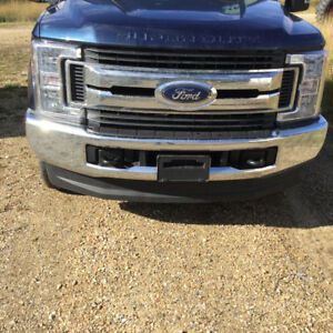 New Crome front bumper assembly for 2017 super duty