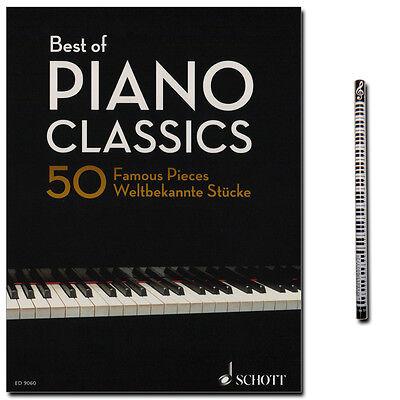 Best of Piano Classics - Klavier Noten - Schott Verlag - ED9060 - 9783795747091