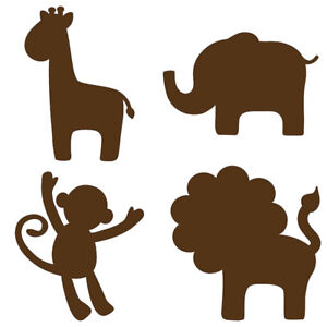 Nursery decor - removable/replaceable vinyl wall stickers