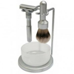 OLD STYLE SHAVING RAZOR SHAVING BRUSH CREAM STRAIGHT RAZOR