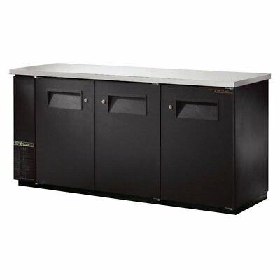 True Tbb-24-72-hc 73 18 Bar Refrigerator - 3 Swinging Solid Doors 115v