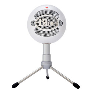 Mint Condition Blue Snowball Condenser Microphone USB