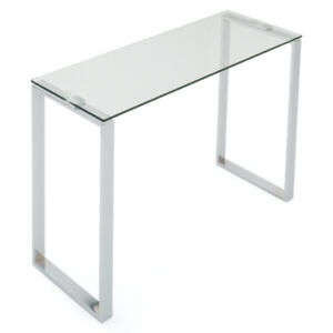 Table console en verre/Glass console table