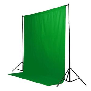 Photo Video Backdrop Screens White, Green and Black - Brand New!